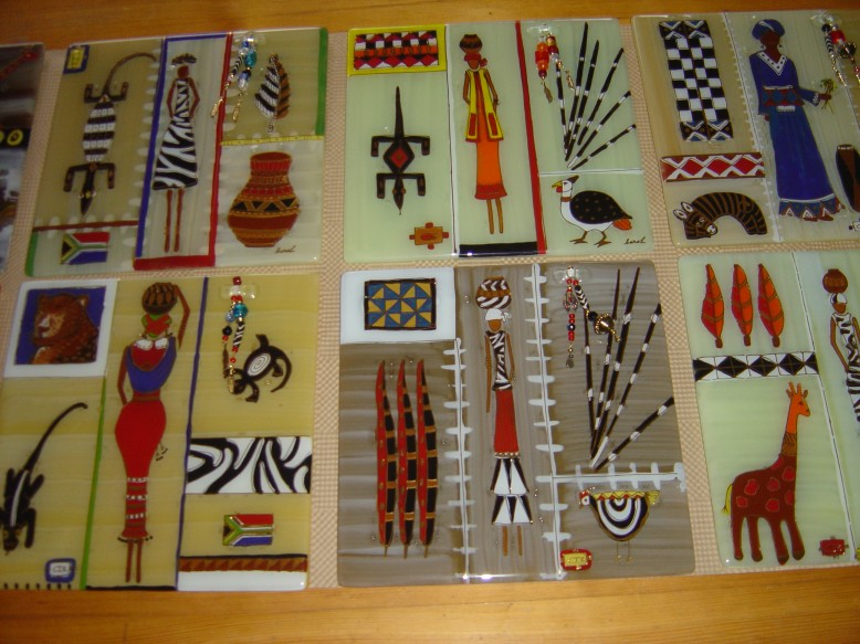 Handmade Glass Cheesboards