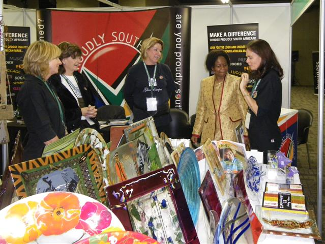 Wonderful exhibition - Tshwane International Trade - Executive Mayor